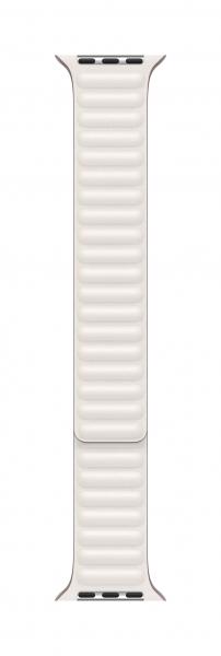 Apple Lederarmband mit Endstück für Watch 44mm (kreide) L