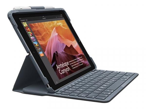 """Logitech Slim Folio Tablet-Case für: iPad 10,2"""" 7. Gen. 2019, 8. Gen. 2020"""