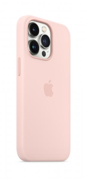 Apple Silikon Case iPhone 13 Pro mit MagSafe kalkrosa