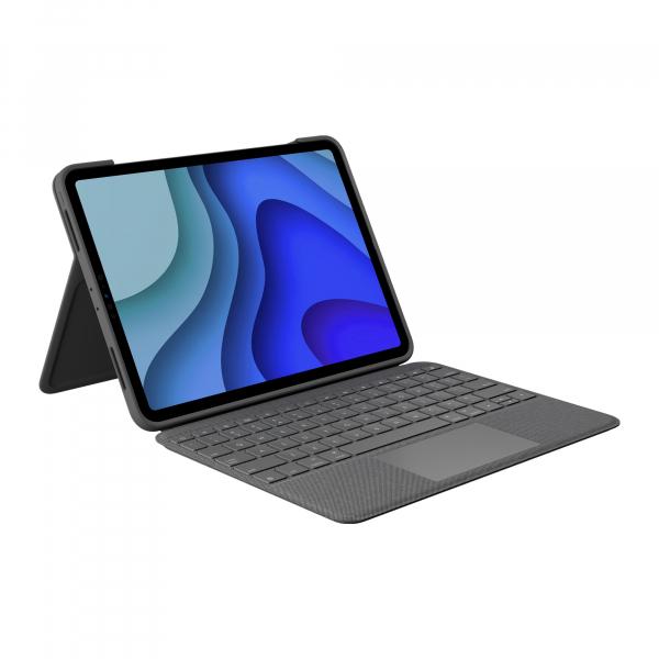 """Logitech Folio Touch Tablet-Case für: iPad Pro 11"""" 1. Gen. + 2. Gen."""