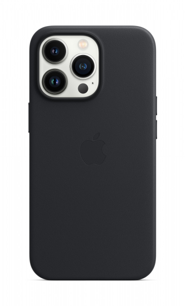 Apple Leder Case iPhone 13 Pro mit MagSafe mitternacht