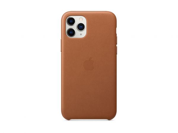 Apple Leder Case iPhone 11 Pro sattelbraun