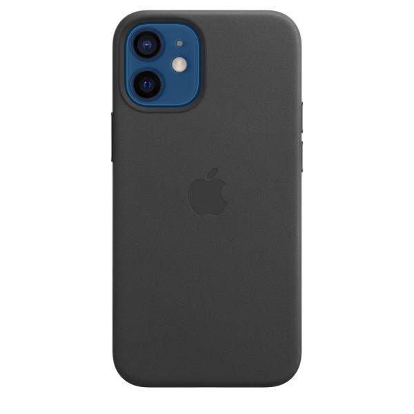 Apple Leder Case iPhone 12 mini mit MagSafe schwarz