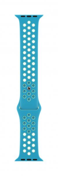 Apple Nike Sportarmband für Watch 44mm (chlorine blue/green glow)