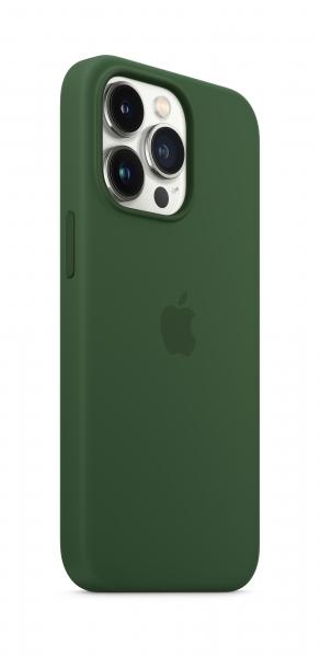 Apple Silikon Case iPhone 13 Pro mit MagSafe klee