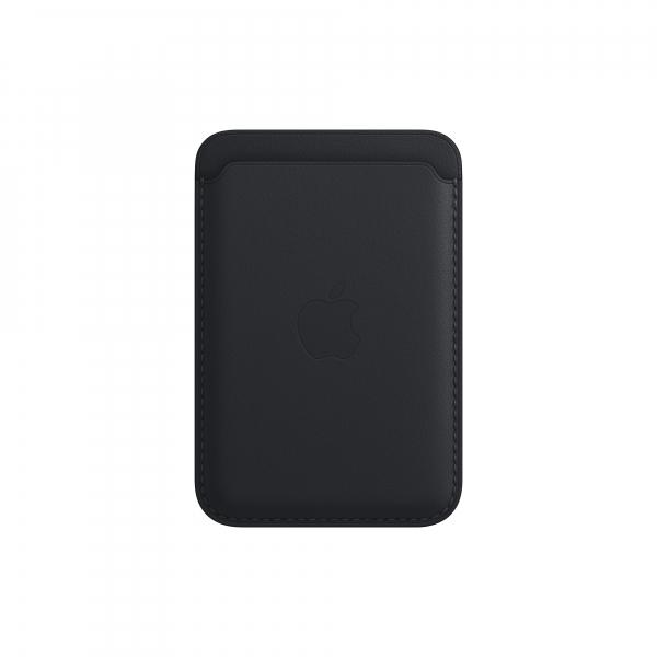 Apple Leder Wallet iPhone mit MagSafe mitternacht