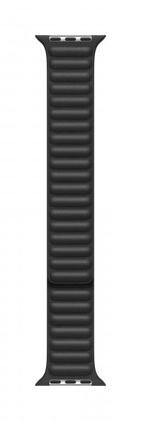 Apple Lederarmband mit Endstück für Watch 44mm schwarz L