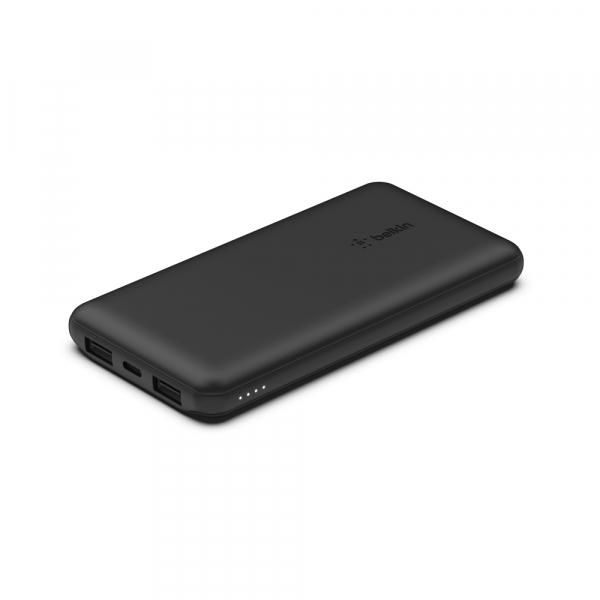 Belkin Boost Charge 3-Port-Powerbank 10K mit USB-A/USB-C-Kabel