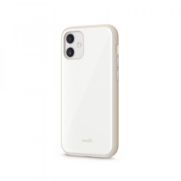 Moshi iGlaze Apple iPhone 12 mini SnapTo™ Pearl White