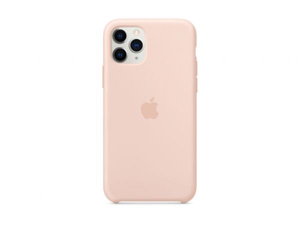 Apple Silikon Case iPhone 11 Pro sandrosa