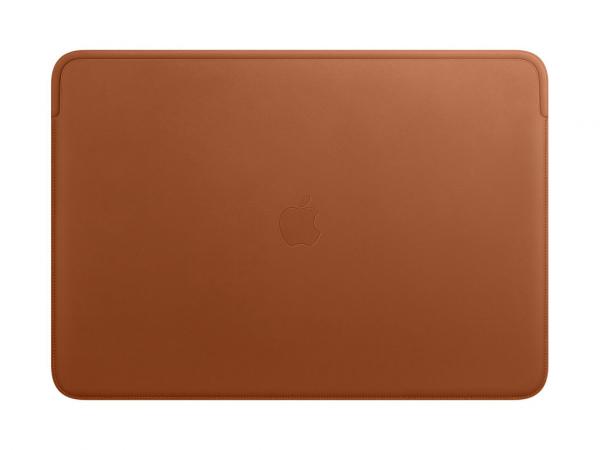 Apple Lederhülle für MacBook Pro 16 sattelbraun