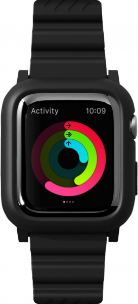 LAUT Aw Impkt Apple Watch 42 / 44 mm schwarz