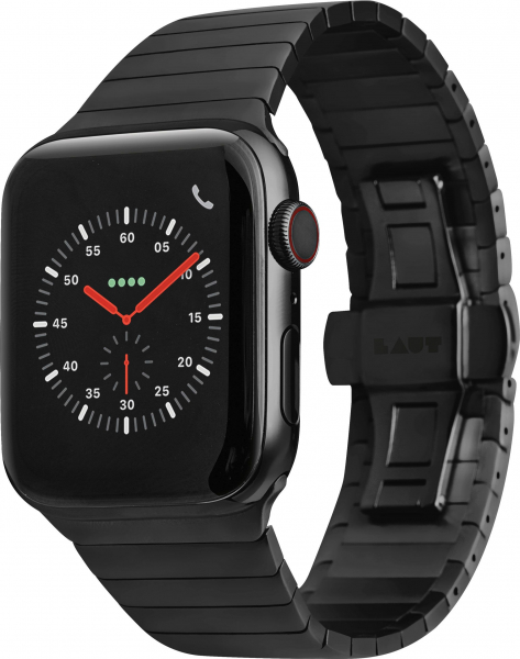 LAUT Links Apple Watch 42 / 44 mm schwarz
