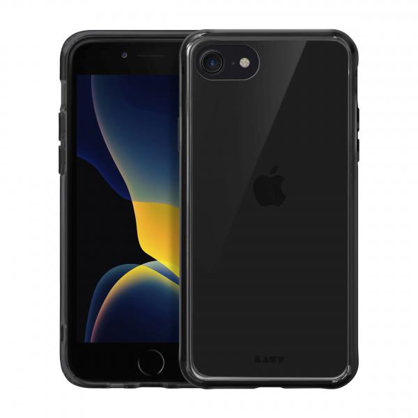 LAUT Crystal-X Impkt iPhone SE 2.Gen/8/7 schwarz