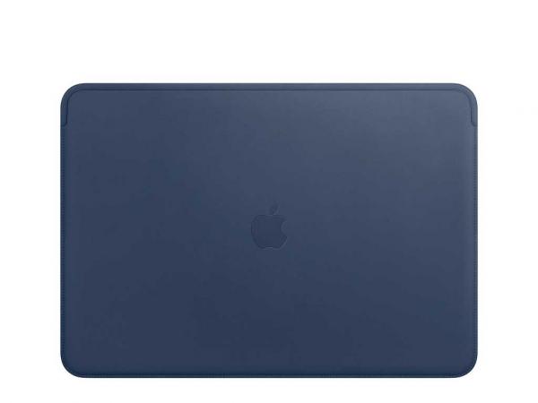 """Apple Lederhülle MacBook Pro 13"""" mitternachtsblau"""