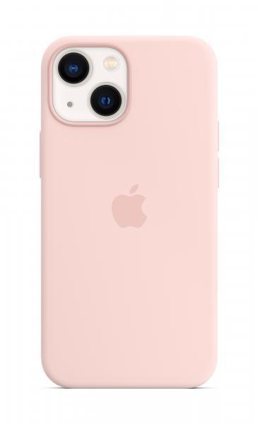 Apple Silikon Case iPhone 13 mini mit MagSafe kalkrosa
