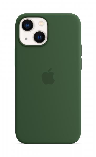 Apple Silikon Case iPhone 13 mini mit MagSafe klee
