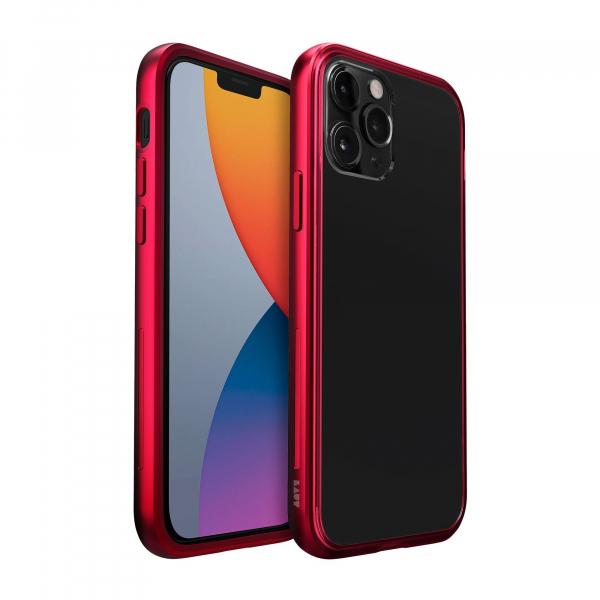 LAUT Exoframe iPhone 12 mini crimson red