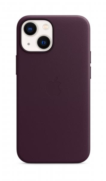 Apple Leder Case iPhone 13 mini mit MagSafe dunkelkirsch