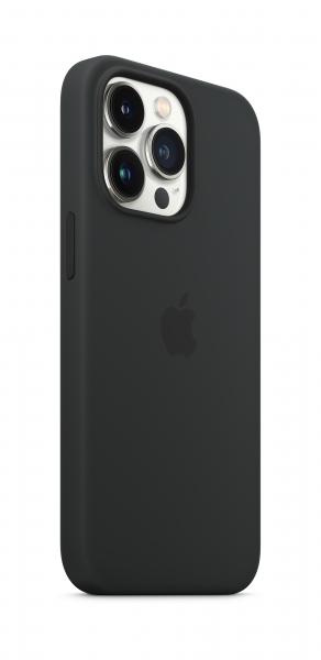 Apple Silikon Case iPhone 13 Pro mit MagSafe mitternacht