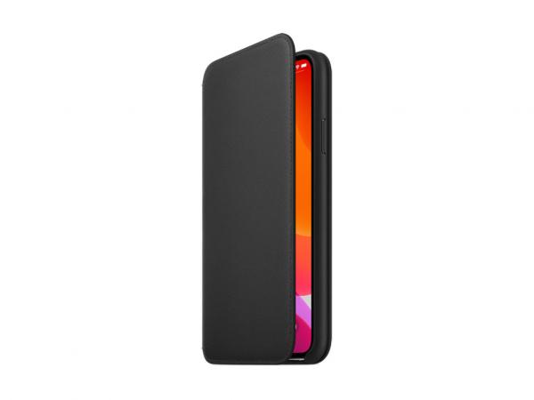 Apple Leder Folio iPhone 11 Pro Max schwarz