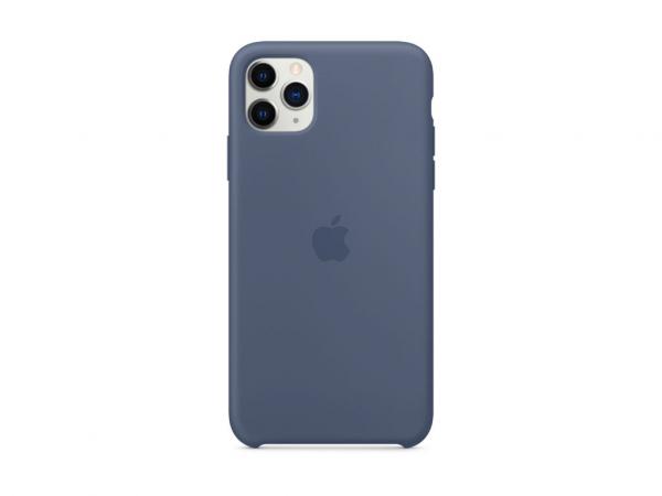 Apple Silikon Case iPhone 11 Pro Max alaska blau