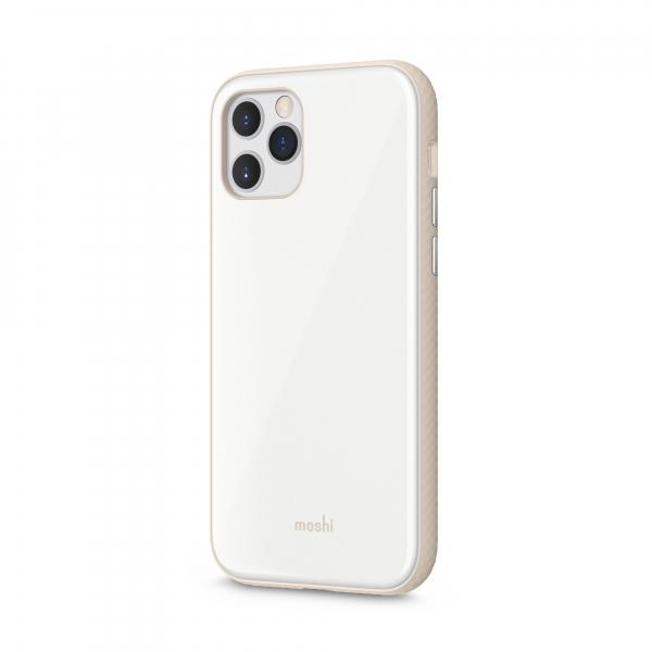Moshi iGlaze Apple iPhone 12/12 Pro SnapTo™ Pearl White