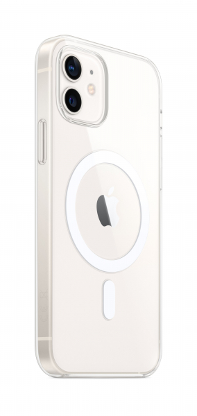 Apple Clear Case iPhone 12/12 Pro mit MagSafe