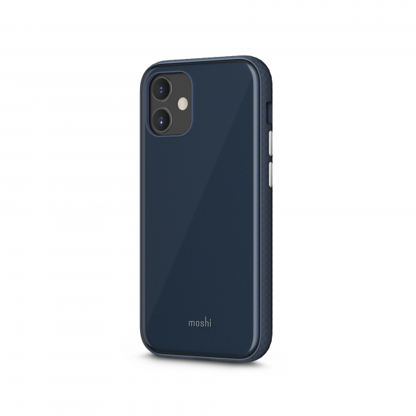 Moshi iGlaze Apple iPhone 12 mini SnapTo™ Midnight Blue